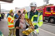 Wirral police and firefighters taking part in major disaster training exercise